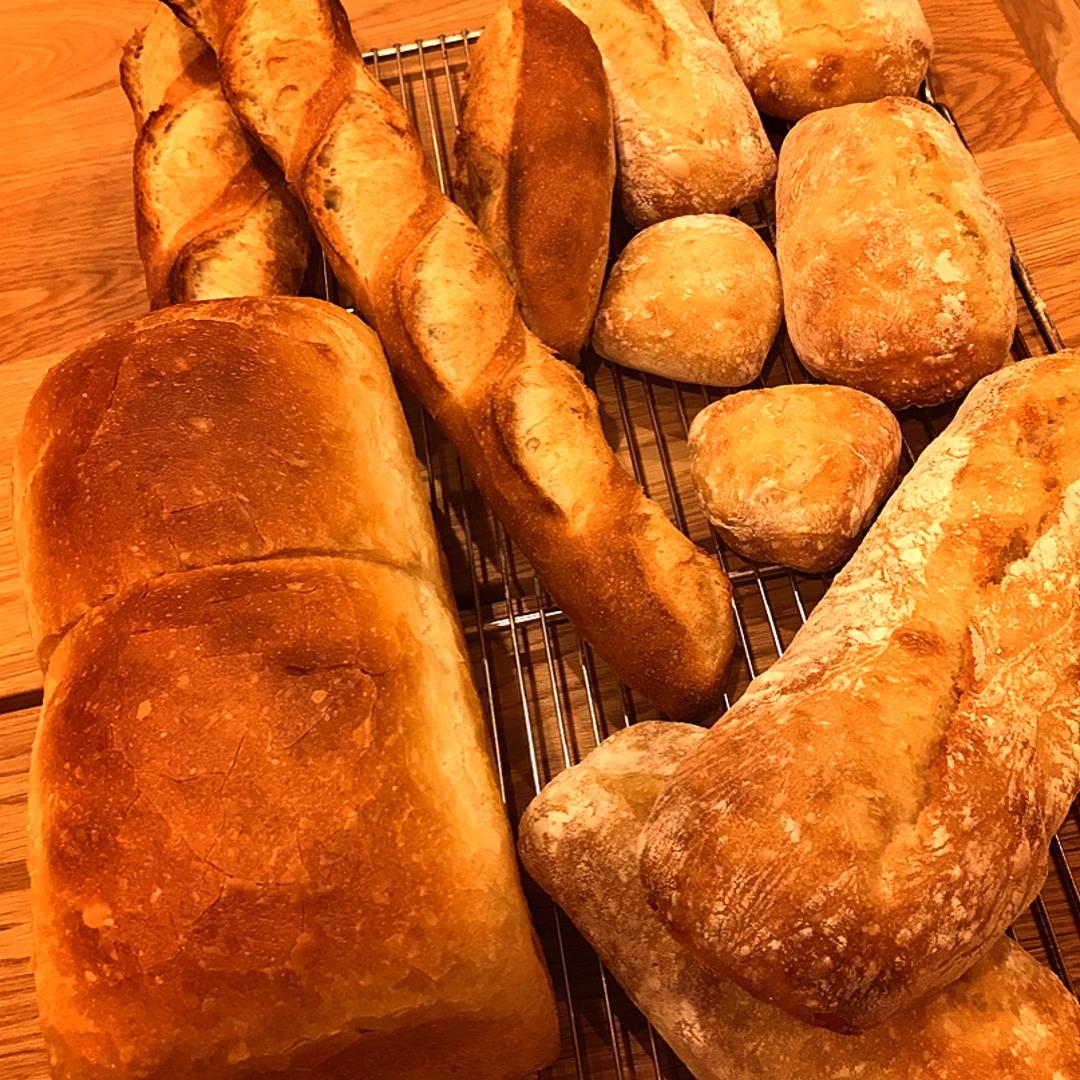 丘パンのパン第1号誕生(2018.04.01)