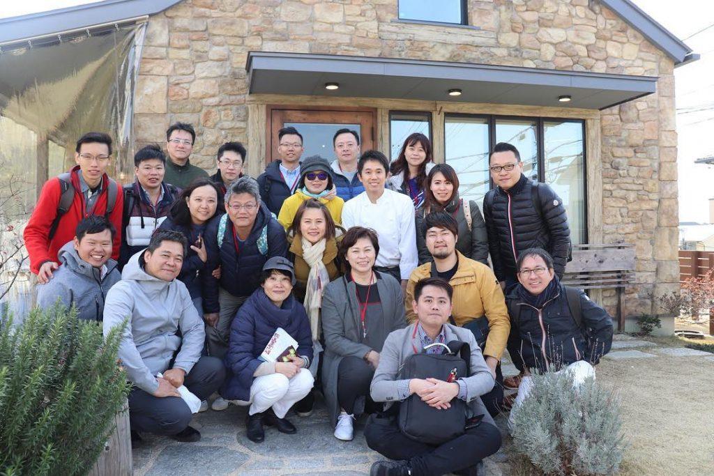 台湾からたくさんのお客様が視察に来てくださいました(2019.02.22)
