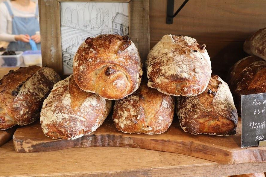ハード系のパンは11時半頃から随時焼き上げています(2019.05.09)