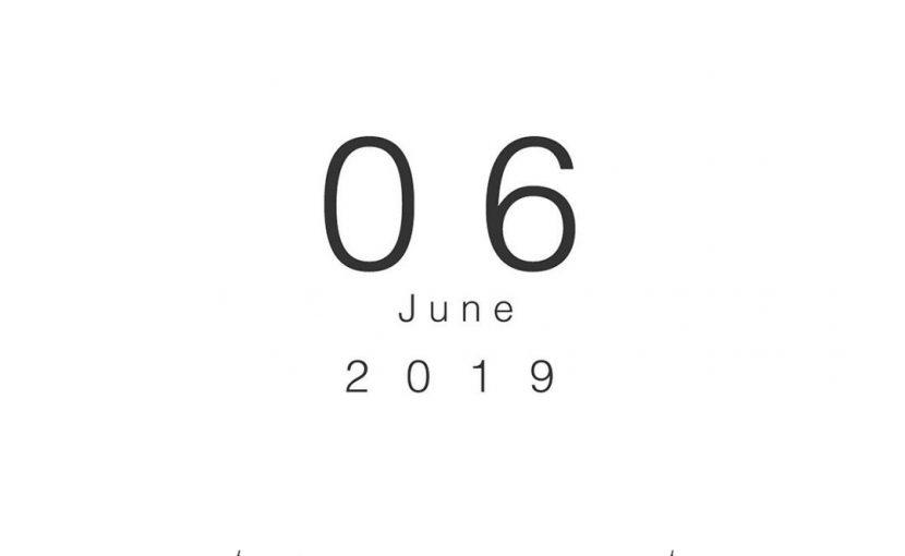2019年6月の営業日