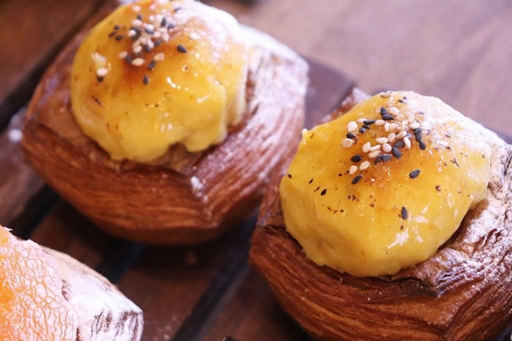 青葉ファームさんの安納芋を使用したディニッシュがスタートしています(2019.11.15)