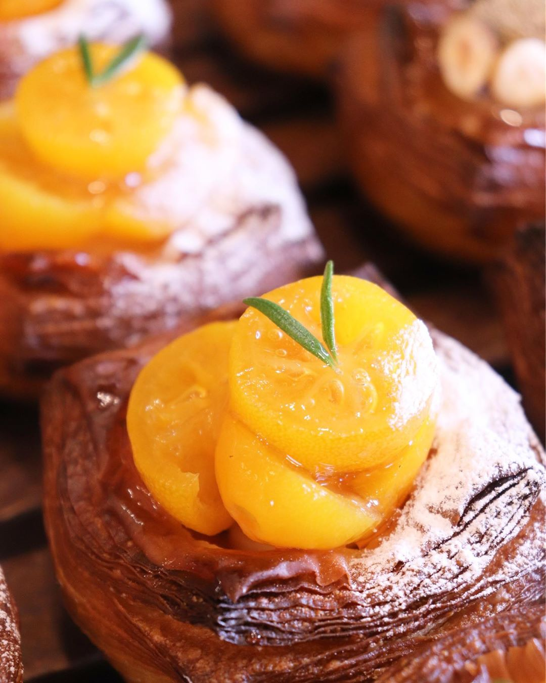 季節限定のデニッシュ「いちごのデニッシュ」、「金柑のデニッシュ」たくさんご用意しております(2020.01.25)