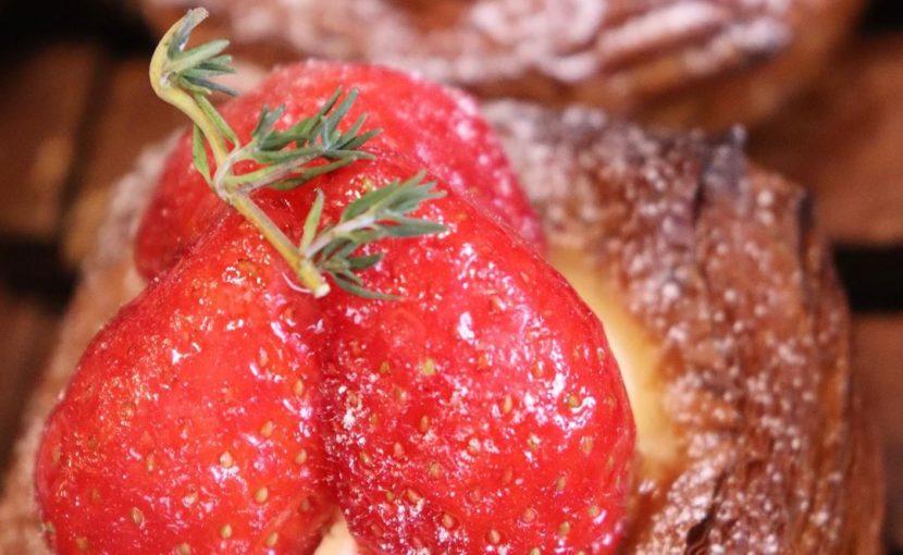 季節限定のデニッシュ「いちごのデニッシュ」、「金柑のデニッシュ」たくさんご用意しております(2020.01.16)