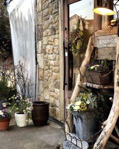 お花や庭なども含めて丘の上のパン屋を楽しんでください(2020.01.25)