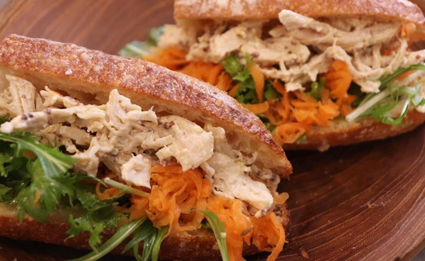 現在、丘パンのサンドウィッチ類は全部で5種類ご用意しています(2020.01.31)