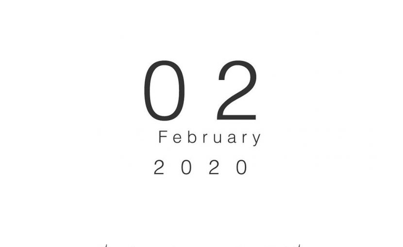 2020年02月の営業日
