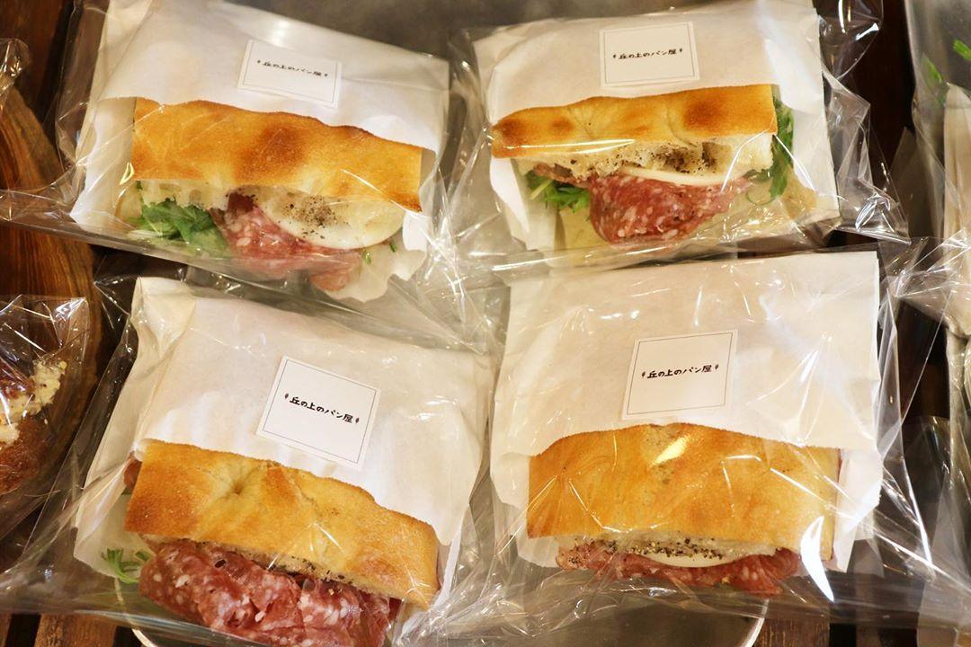 バゲットサンドは朝8時から、サンドウィッチ類は11時半ころからご用意させていただいております(2020.02.27)