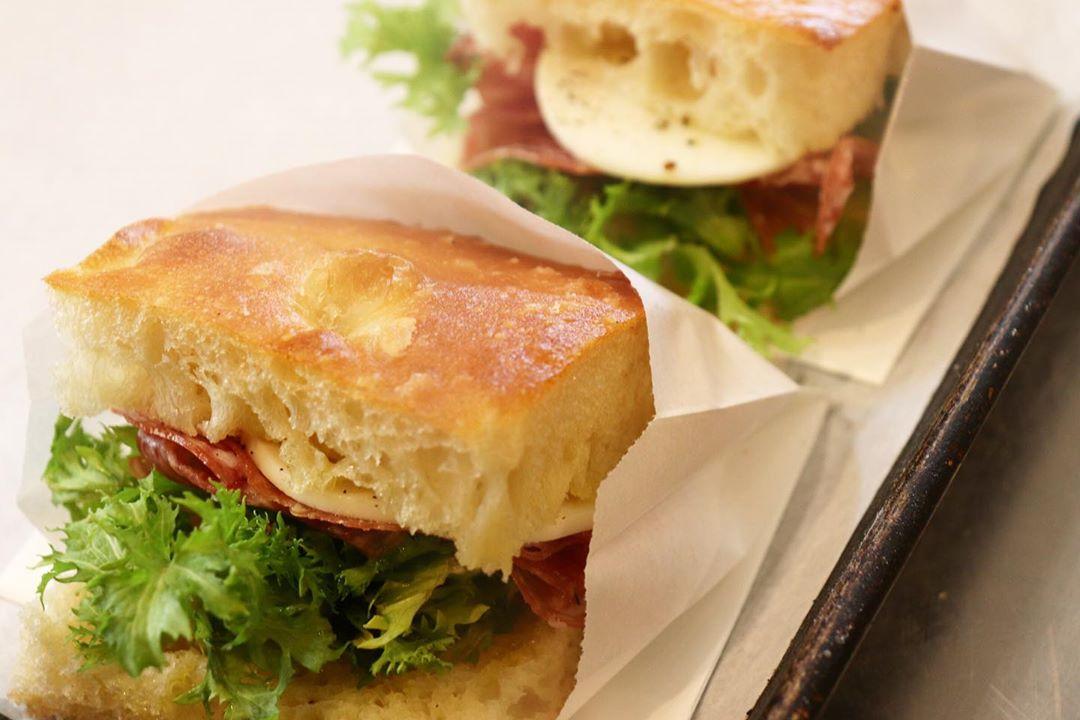 バゲットサンド、サンドウィッチ類たいへん好評いただいております(2020.03.19)