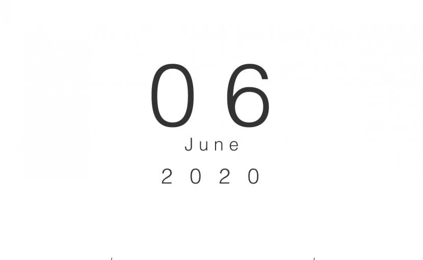 2020年06月の営業日