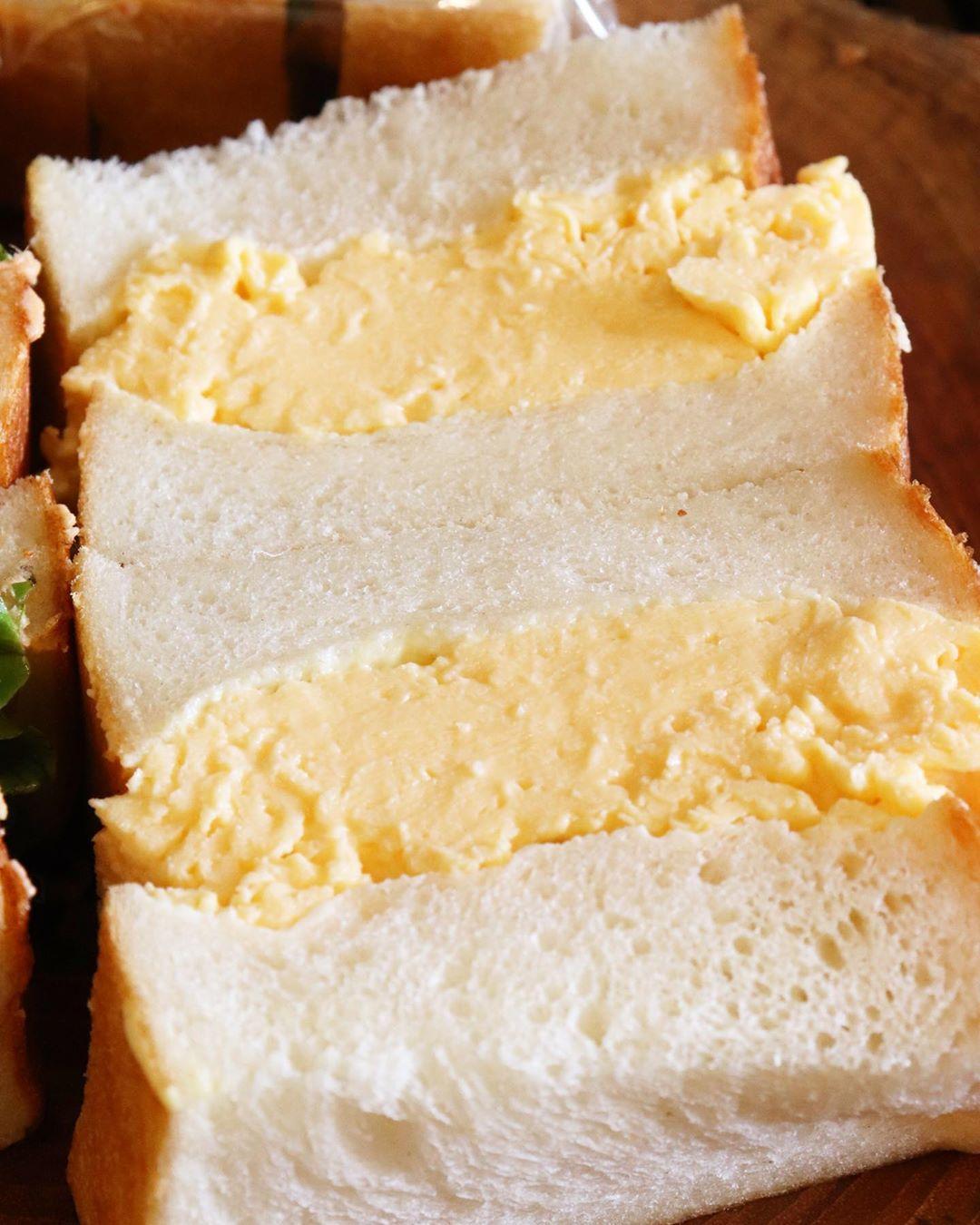 「ツナ プロヴァンサルのサンドウィッチ」「特製卵サンド」はとても好評いただいております(2020.06.26)