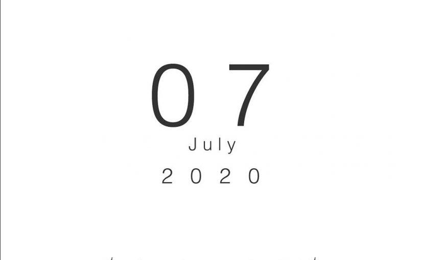 2020年07月の営業日