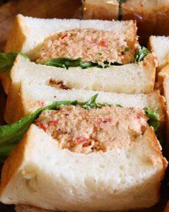「ツナ プロヴァンサルのサンドウィッチ」「特製卵サンド」は好評いただいております(2020.07.16)