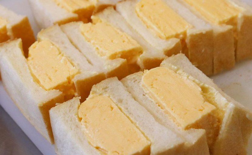 「特製卵サンド」他、バゲットサンド・サンドウィッチ類は10:00~10:30頃からお出し致します(2020.07.29)