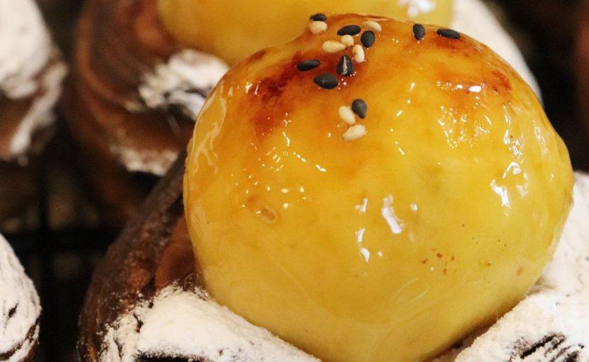 安納芋のディニッシュたいへん人気で本日も完売いたしました(2020.10.22)