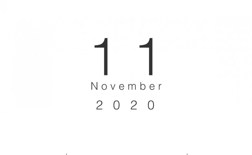 2020年11月の営業日