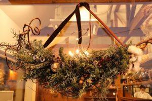 「空の箱」さんで今年もクリスマスのお飾りを自分で作りました(2020.12.10)