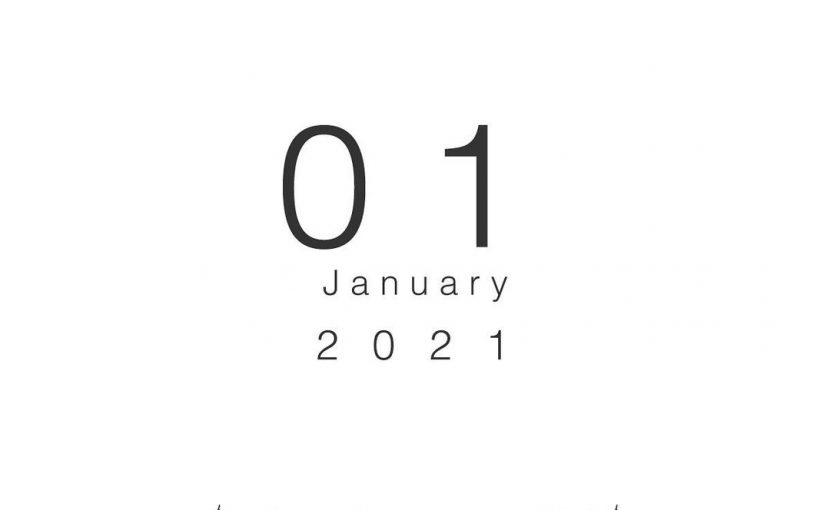 2021年1月の営業日