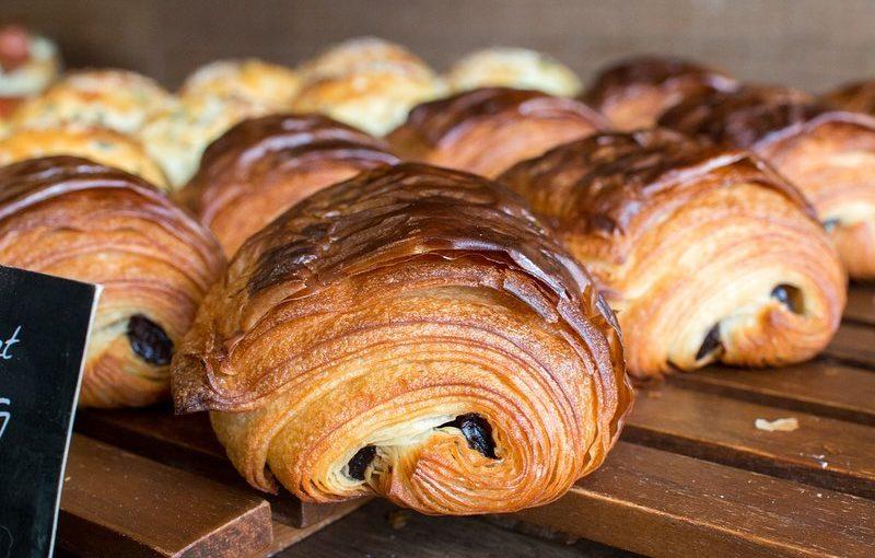 本日も「発酵バターのクロワッサン」「パン・オ・ショコラ」本日もたくさん焼かせていただきました(2021.02.12)