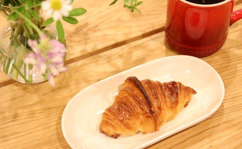 朝食はクロワッサンと珈琲のみ、幸せな一日の始まり(2021.04.19)