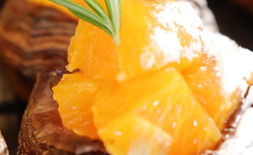 好評いただいています季節限定デニッシュ「清見オレンジのデニッシュ」「苺のデニッシュ」本日もご用意しています(2021.05.28)