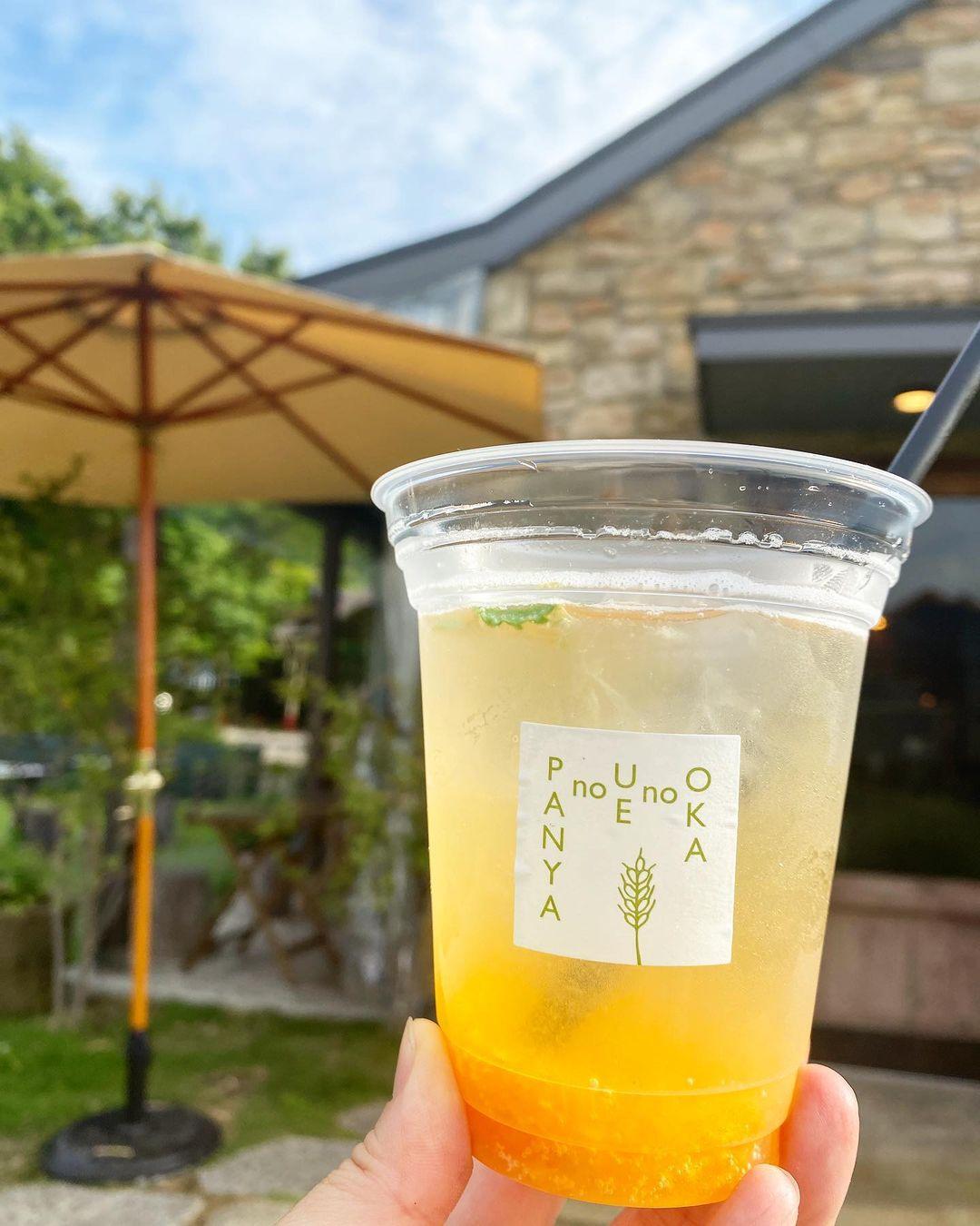 暑くなってきたこともあり「自家製杏ソーダ」もたくさんご注文いただきました(2021.06.11)