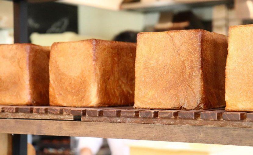 好評いただいております、食パンは、1日2回焼かせていただいています(2021.08.21)