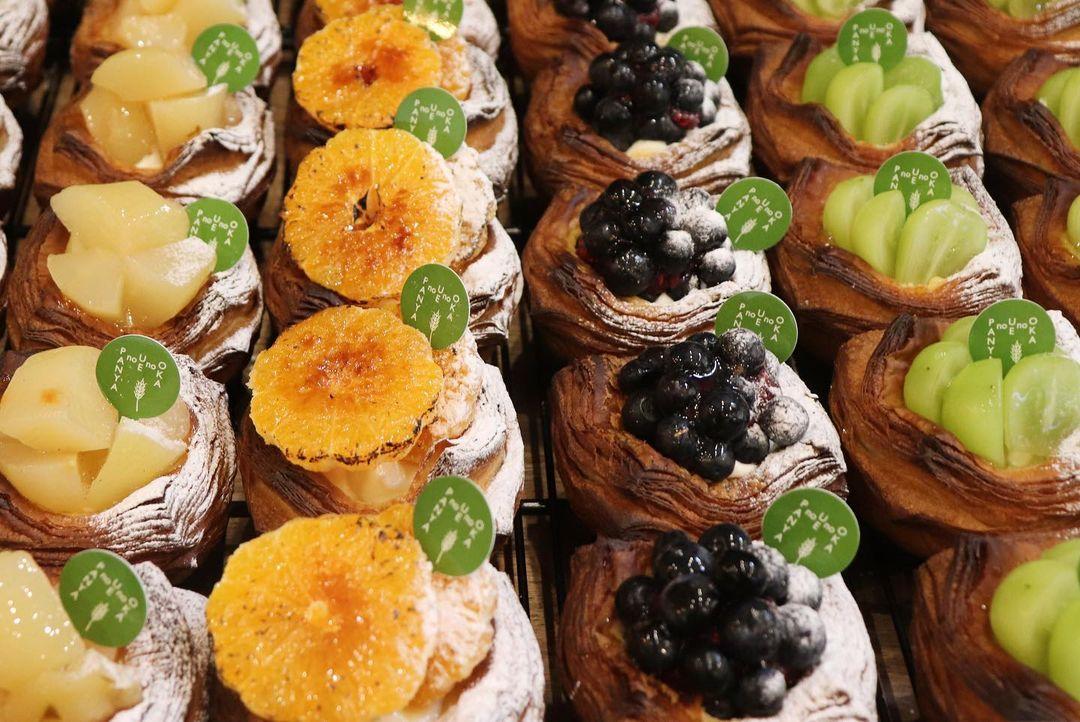 新しいデニッシュ「スィートポテトのデニッシュ」が、本日の午後からご用意予定です(2021.09.25)